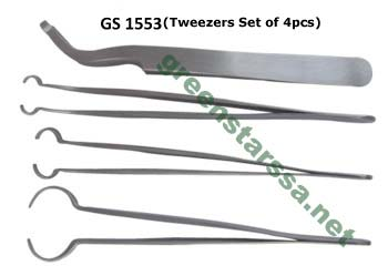 Ball Holding Tweezer Set