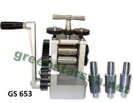 mini rolling mill single body with 5 rolls Supplied With High Quality Ss Gears & Wheels
