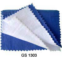 Polishing Cloth Blue/White